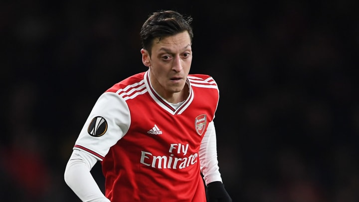 Mesut Ozil is nearing the end of his Arsenal career