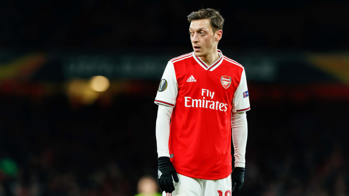 Özil's Arsenal career looks to be nearing an end