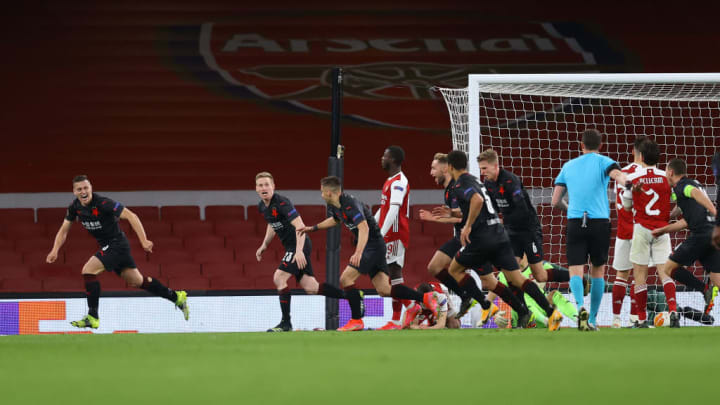 Tomas Holes' late goal denied Arsenal the win on Thursday night