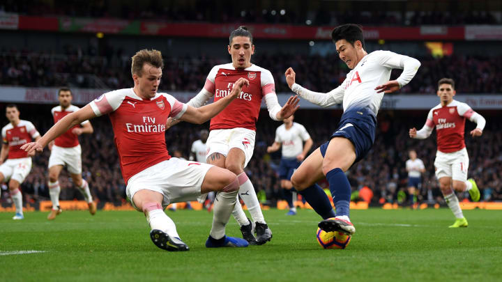 Heung-Min Son, Rob Holding