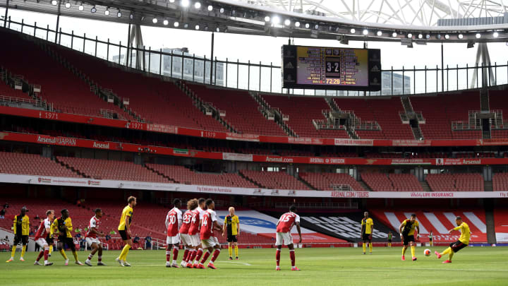 Arsenal hope to welcome some fans back to the Emirates on 3 October