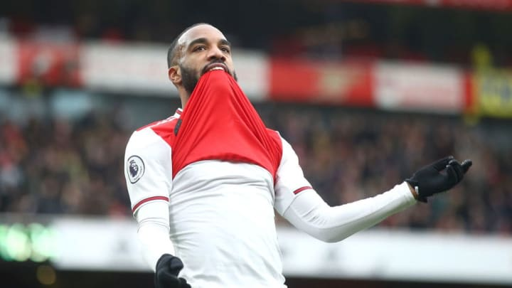 Lacazette gets a coded name-drop in one of Yizzy's songs