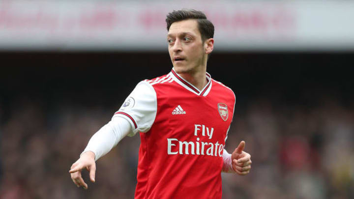 Özil is set to leave the Emirates