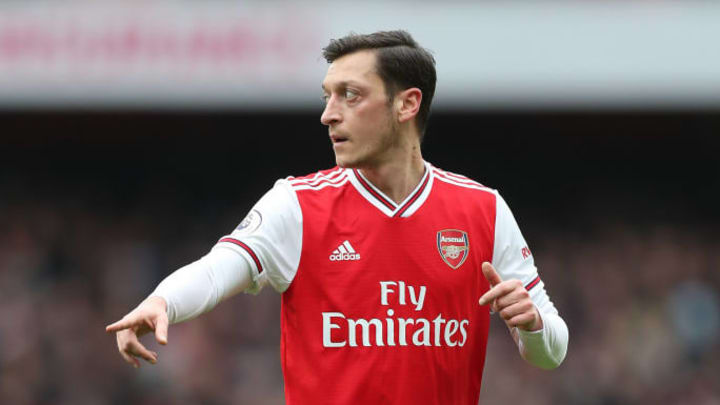 Ozil's Arsenal career is over, after coach Arteta left him out of the Premier League squad