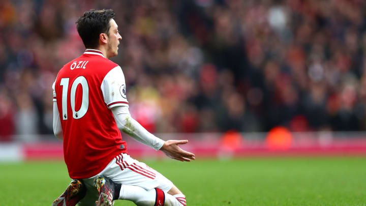 Ozil has revealed where he wants to play after his Arsenal deal expires
