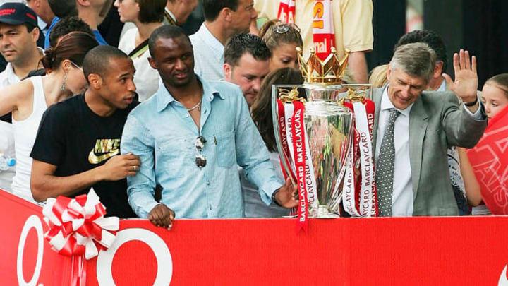 Thierry Henry, Patrick Vieira, Arsene Wenger