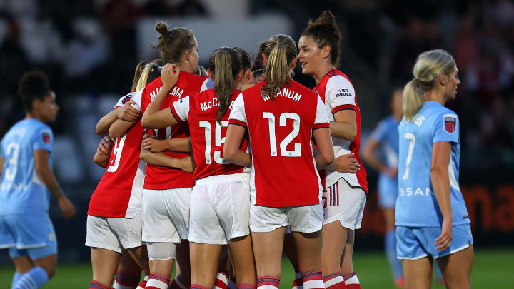 Arsenal 5-0 Man City: Player ratings as WSL title contenders go head to head