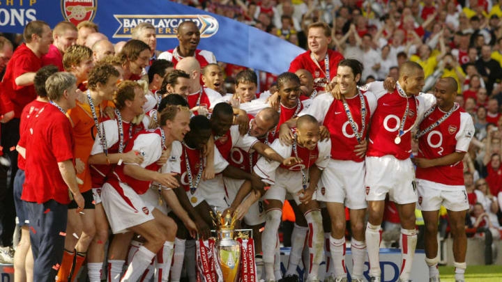 Arsenal last won the Premier League in the 2003/04 season