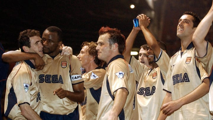 Frederik Ljungberg, Patrick Vieira, Edu, Martin Keown, Ray Parlour, Ashley Cole