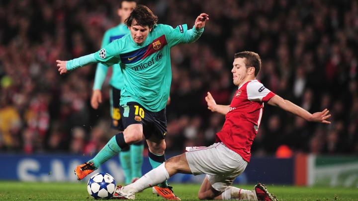 Lionel Messi, Jack Wilshere