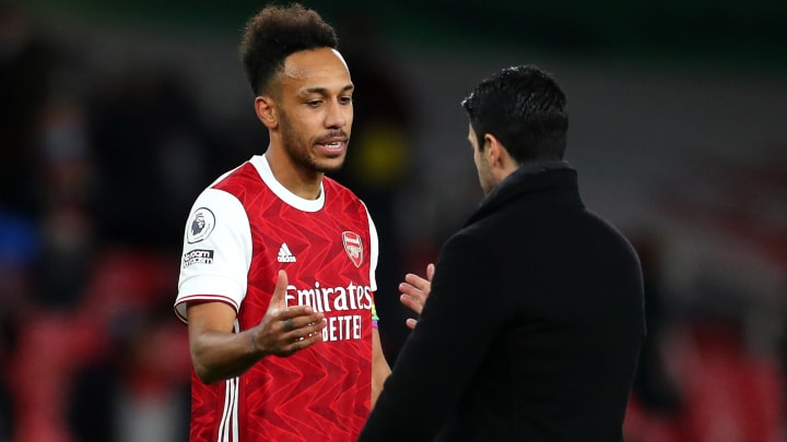 Mikel Arteta hopes to have Aubameyang at his best