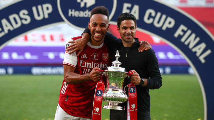Pierre-Emerick Aubameyang led Arsenal to FA Cup glory