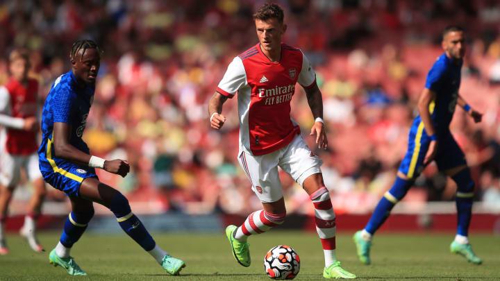 Ben White made his Arsenal debut