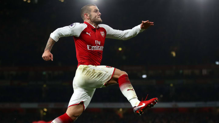 A sight that should have been seen more - Arsenal's Jack Wilshere in full flow