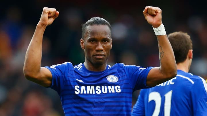 Didier Drogba is one of Chelsea's all-time greats