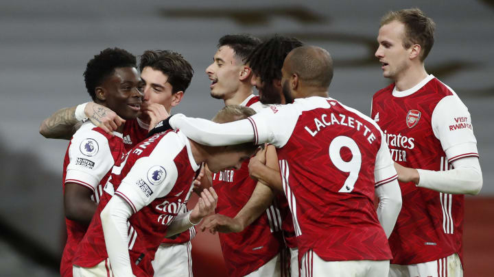 Arsenal survived a late flurry to earn a hard-fought victory