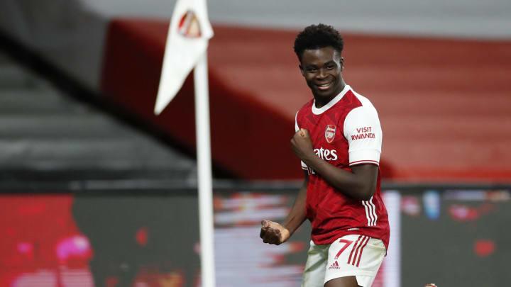 Bukayo Saka is Arsenal's golden boy