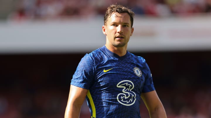 Drinkwater in action during pre-season