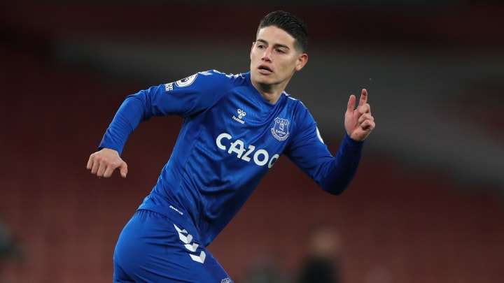 James Rodriguez chose to join Everton because of Carlo Ancelotti