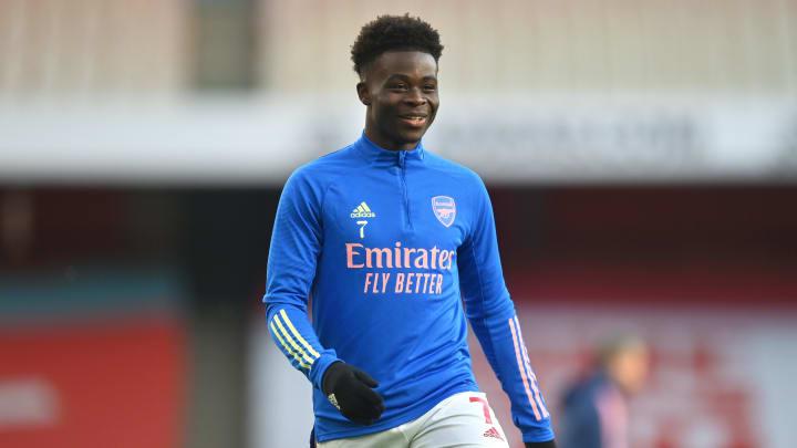 Arsenal star Bukayo Saka has earned the nickname 'Little Chilli'