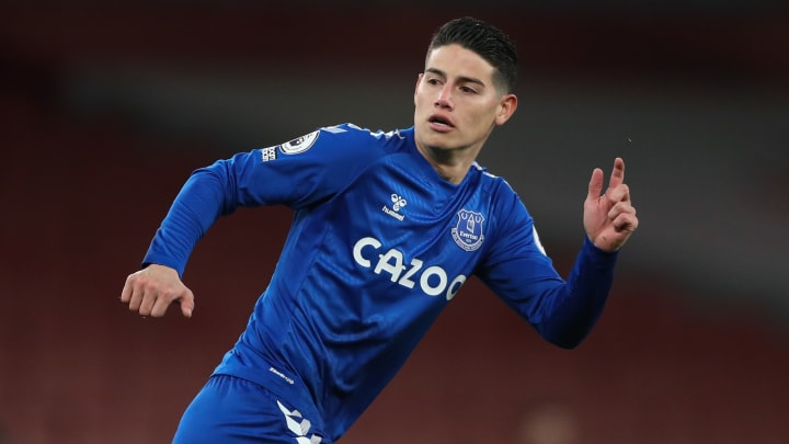 James Rodriguez has left Everton for Al-Rayyan in Qatar