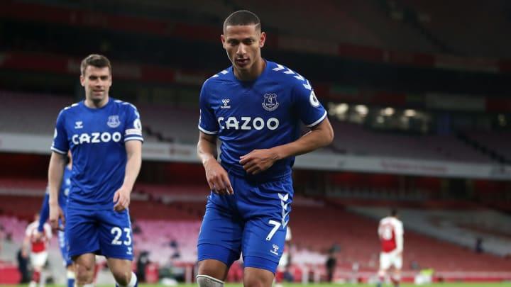 Richarlison's strike earned Everton a 1-0 win over Arsenal