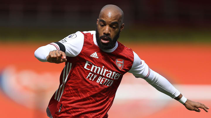Alexandre Lacazette's current Arsenal contract is due to expire next summer