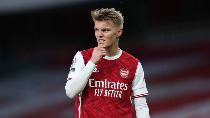 Odegaard has made a good start to life at the Emirates Stadium