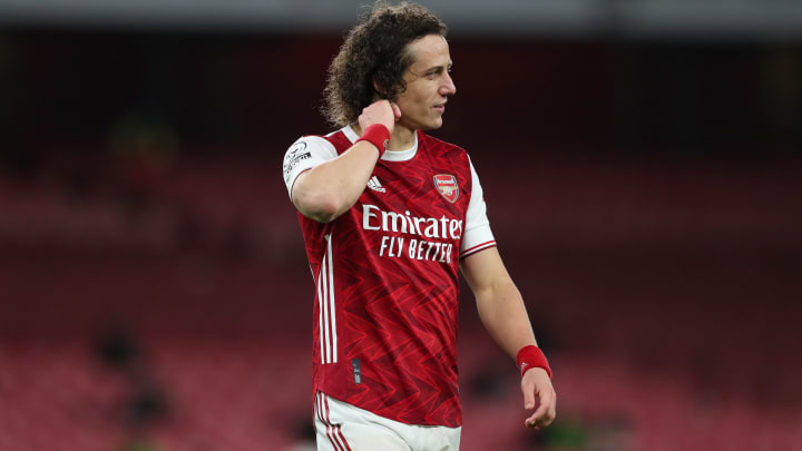 David Luiz could be in line for a new Arsenal contract