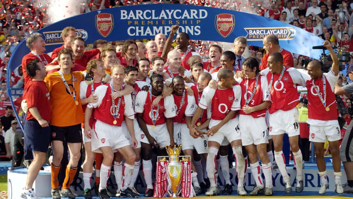 Arsenal v Leicester Premiership Footall 2004