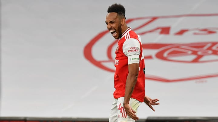 Aubameyang's double ensured Arsenal reached their 21st FA Cup final on Saturday