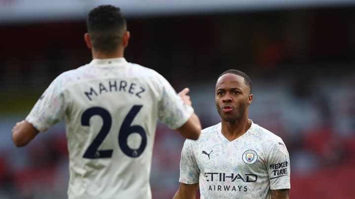 Raheem Sterling and Riyad Mahrez have each been linked with a move away