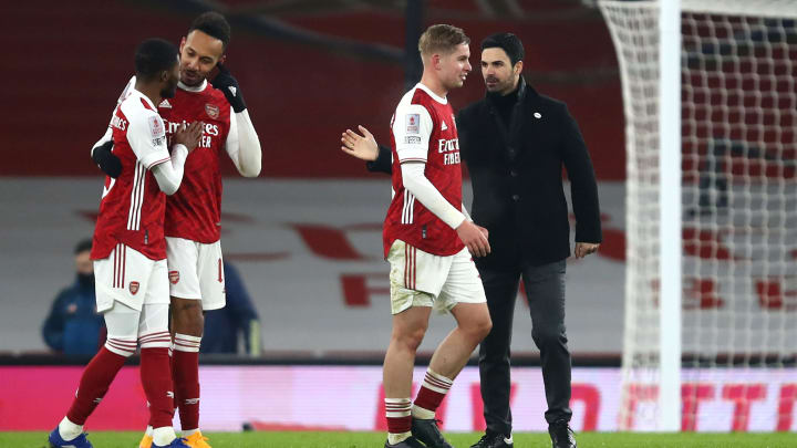 Arteta is full of praise for his youngsters