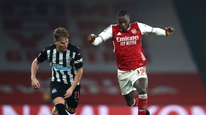 Nicolas Pepe has found himself out of favour under Mikel Arteta this season but will he get an opportunity at St. Mary's tomorrow?