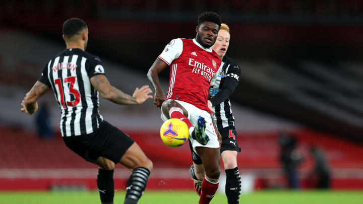 Partey was the beating heart of the Arsenal team