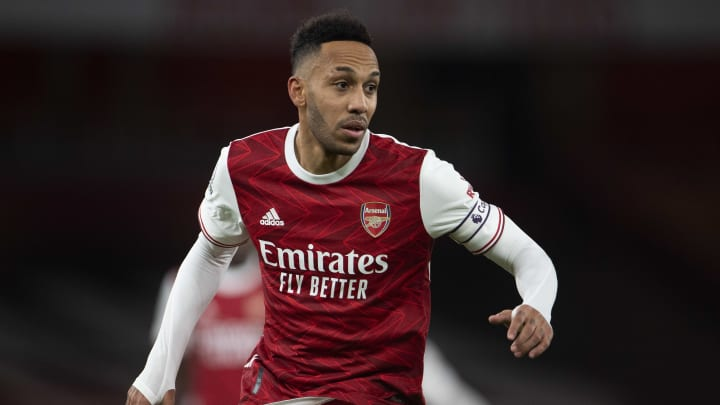 Pierre-Emerick Aubameyang will miss a second Arsenal game