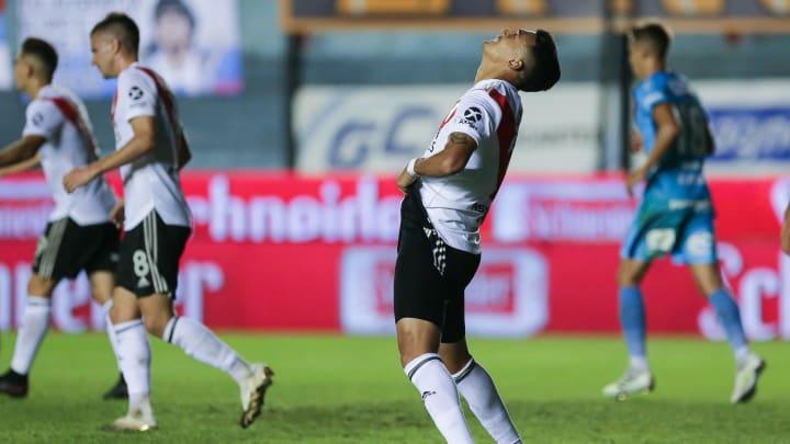 Matías Suarez fue desafectado por una sinovitis en su rodilla