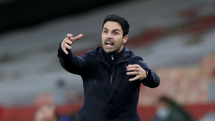 It's been a tough year for Arteta as Arsenal coach