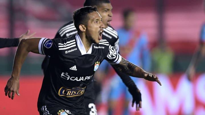 Christofer Gonzales Sporting Cristal Sul-Americana