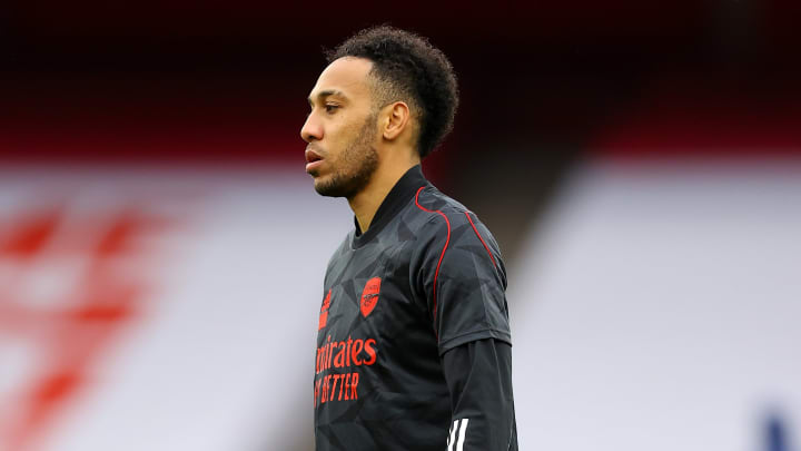 Aubameyang was left out of the starting XI to face Spurs for disciplinary reasons