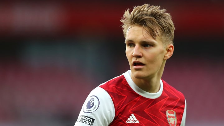 Odegaard has stated he feels 'at home' at Arsenal