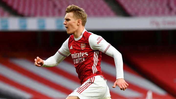 Odegaard has signed permanently and been handed the number 8 shirt