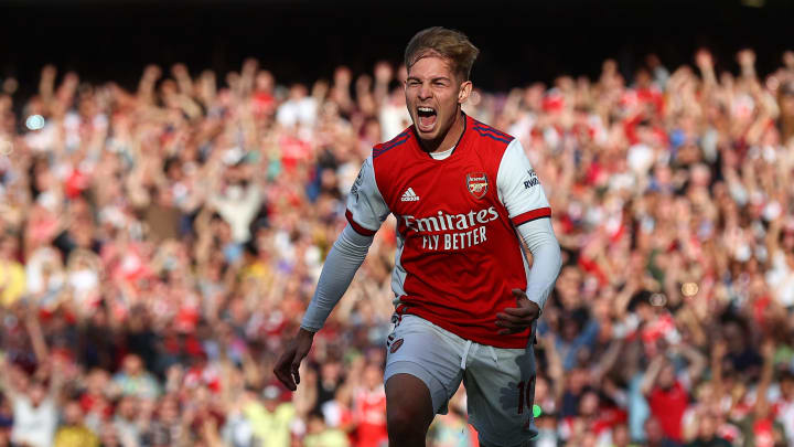It was a great day for one of Arsenal's youngsters