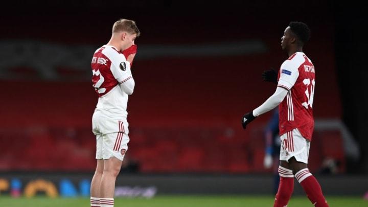Emile Smith Rowe Eddie Nketiah Europa League Premier League Arsenal Villarreal