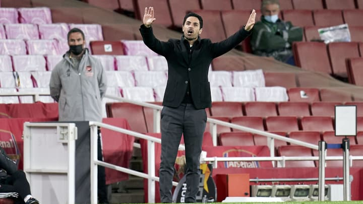 Mikel Arteta has lamented the injuries suffered by his side