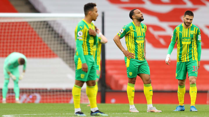 West Brom have been relegated from the Premier League