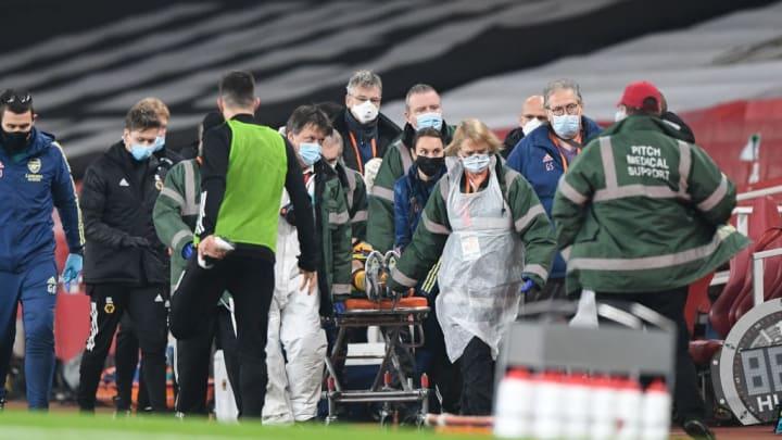 Raul Jimenez suffered an awful injury at Arsenal