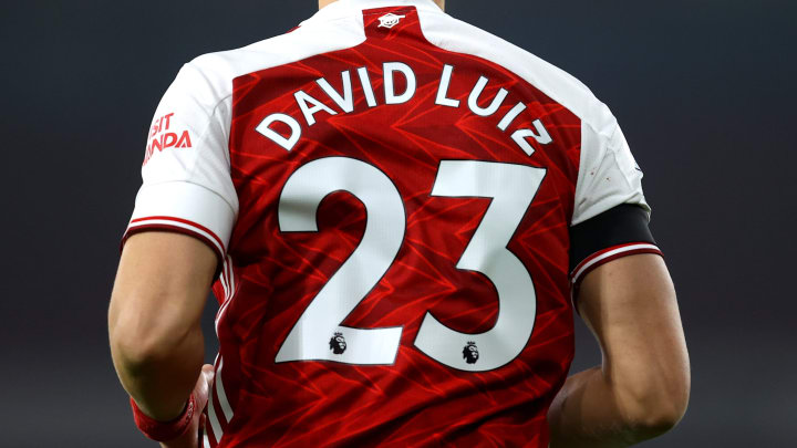 Arsenal have a new number 23 after David Luiz left this summer