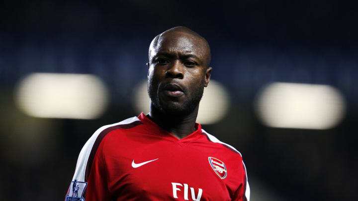 Arsenal's French player William Gallas l