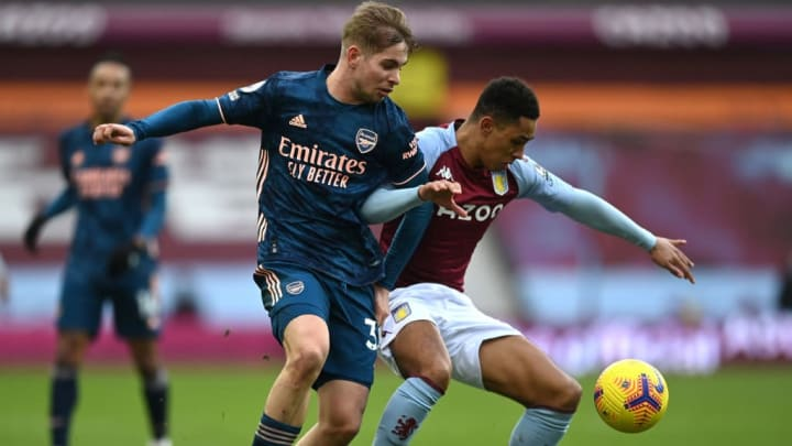 Smith Rowe has looked a little fatigued during Arsenal's defeat at Aston Villa last weekend